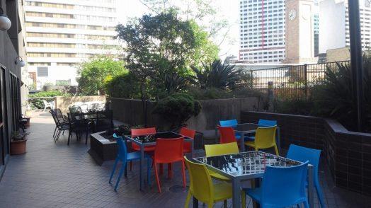 Lexis Brisbane rooftop terrace